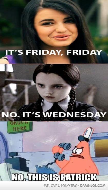 It's Friday, Friday...