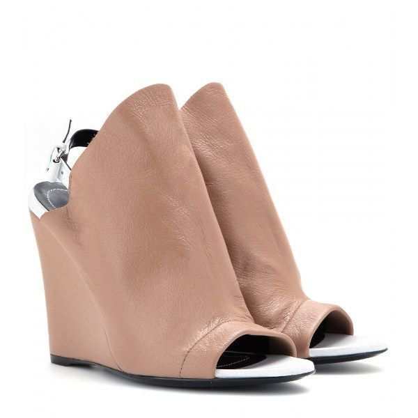 Balenciaga Leather Glove Wedges discount 100% authentic very cheap online shop cheap price discount low price cSyV51J6a