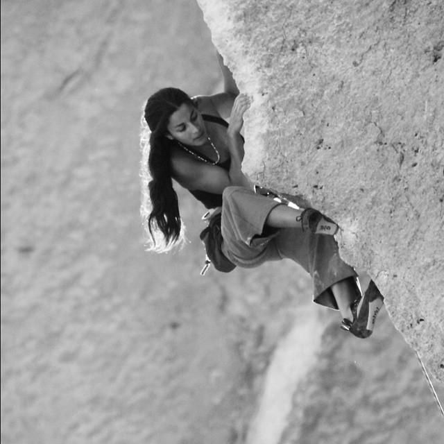 """""""Time flies...climbing this beautiful line """"Chain Reaction"""" in Smith Rock a few years ago."""" #liveclimbrepeat"""