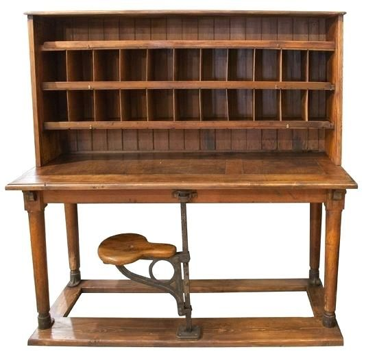 antique-post-office-desk-my-antiques-the-fan- - Antique-post-office-desk-my-antiques-the-fan-not-yet-sorting.jpg 550