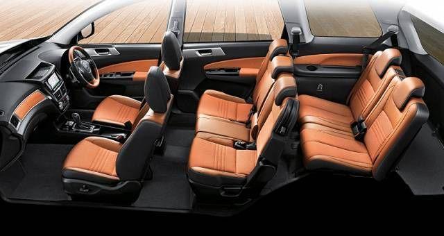 2018 Subaru Viziv 7 Interior