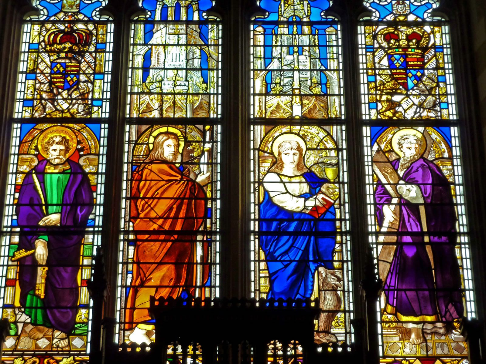 Religious Stained Glass Windows | Stained glass window in Stalham ...