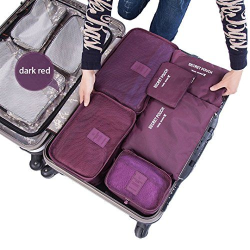 Travel Organizermossio Multifunctional Compact Clothing Ng Cube Wine Red To View Further For This Item Visit The Image Link