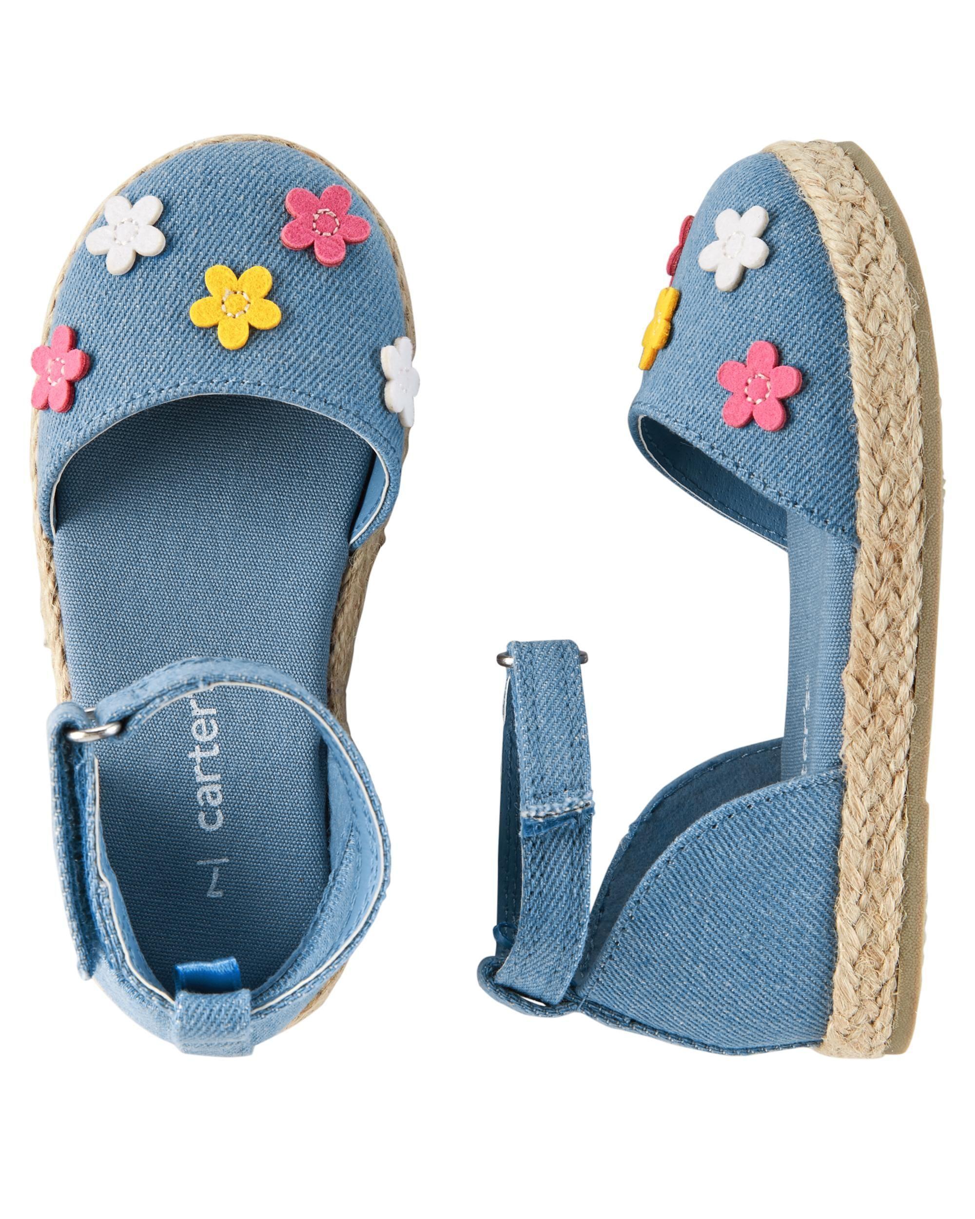 ccb40347f Toddler Girl Carter s Espadrille Sandals