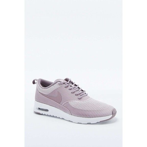 the best attitude 6c831 5e281 Nike Air Max Thea Mauve Trainers (1 035 SEK) ❤ liked on Polyvore featuring  shoes, sneakers, mauve, low profile shoes, low top, leather low top  sneakers, ...
