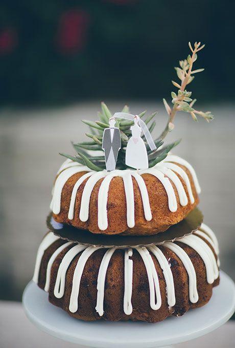 A Mini Bundt Wedding Cake By Nothing Cakes Brides