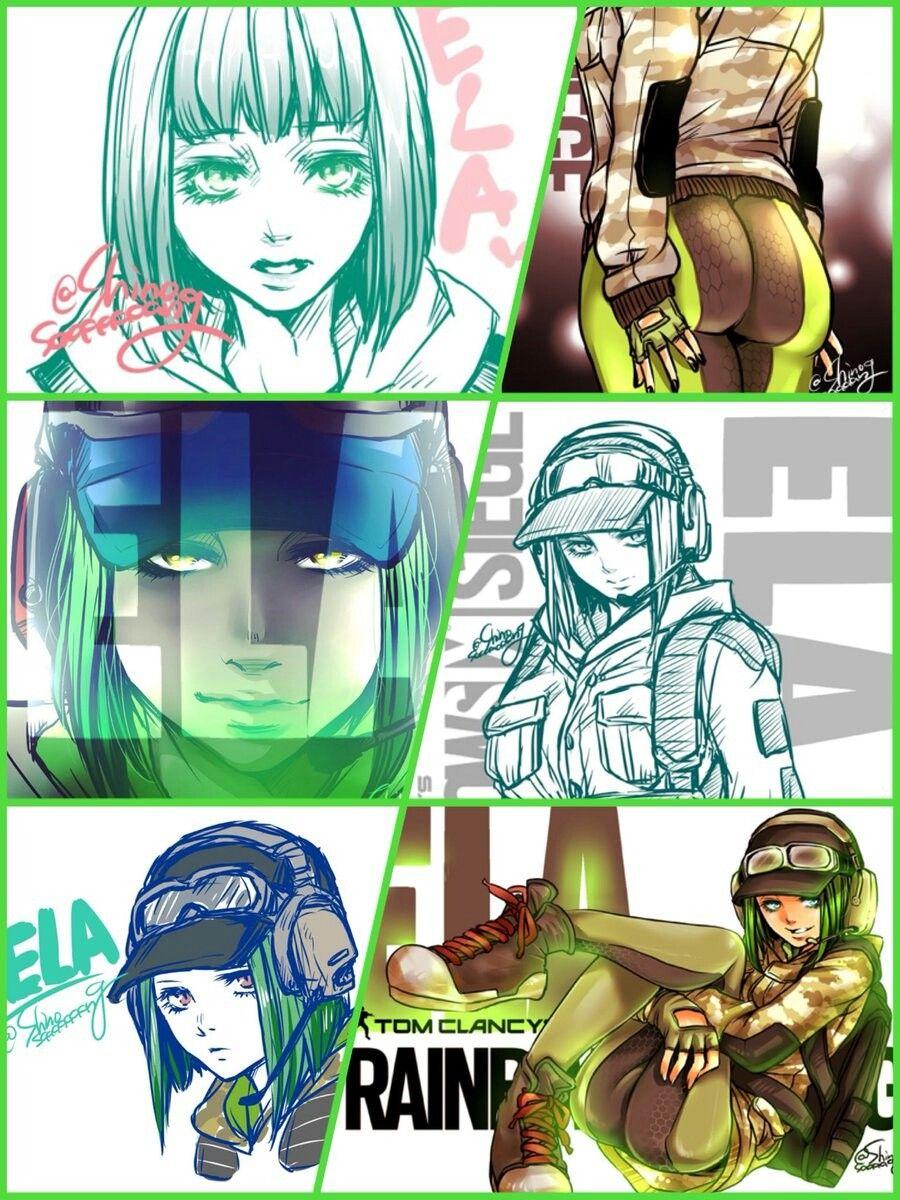 Grom operative ela author shinosaaaaaaag rainbow six - Rainbow six siege bosak ...