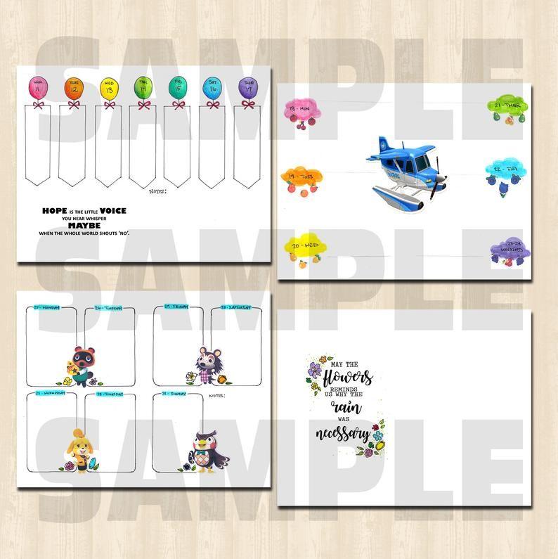 May 2020 Animal Crossing New Horizon Pocket Camp Theme