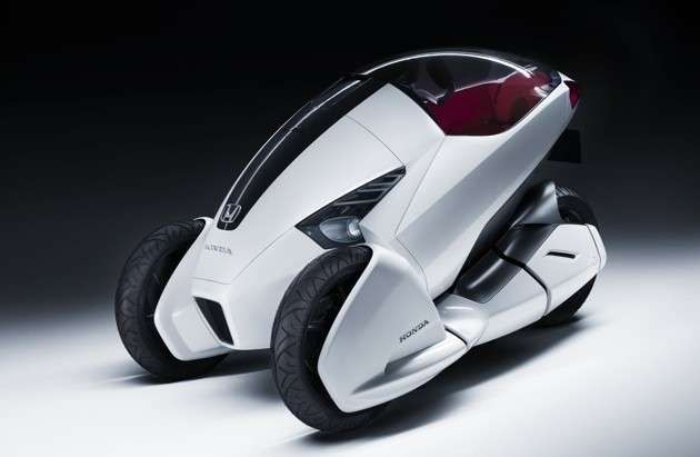 Sharp Eco Vehicles Mobil Listrik Honda Cars Electric Cars