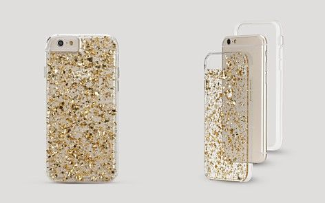 CaseMate iPhone 6 Case - Golden Flakes