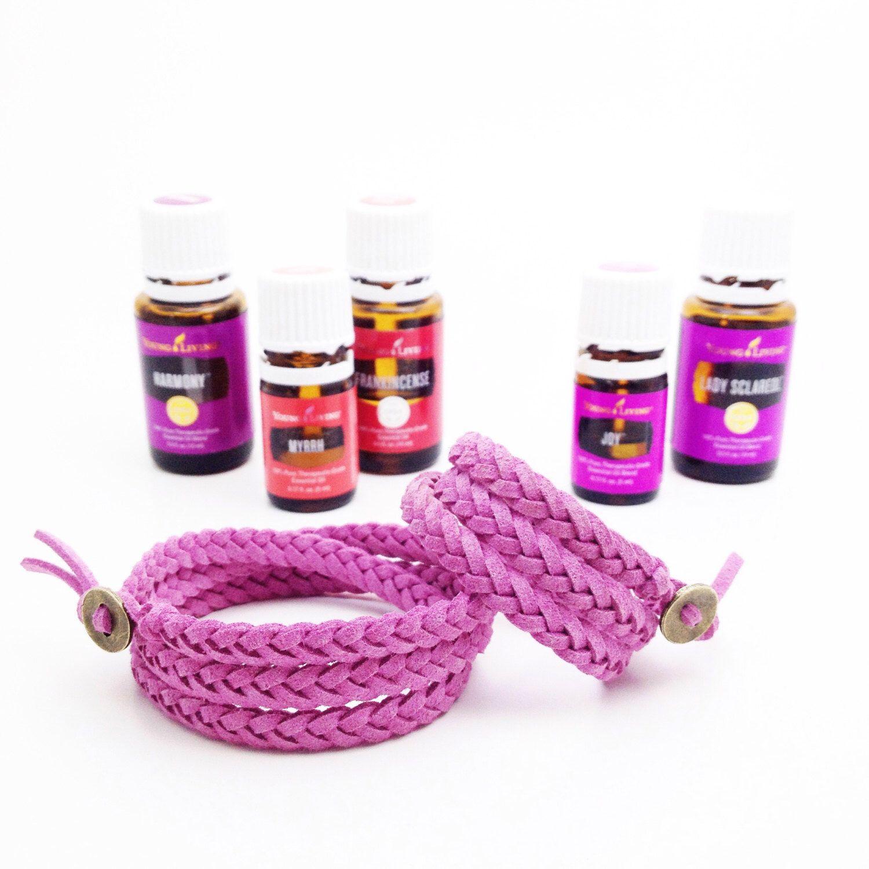 Mommy mini wrap set essential oil diffuser bracelet