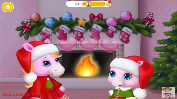 Fun Pony Care Kids Games  Pony Sisters ChristmasSecret Santa Gifts  C Fun Pony Care Kids Games  Pony Sisters ChristmasSecret Santa Gifts  C