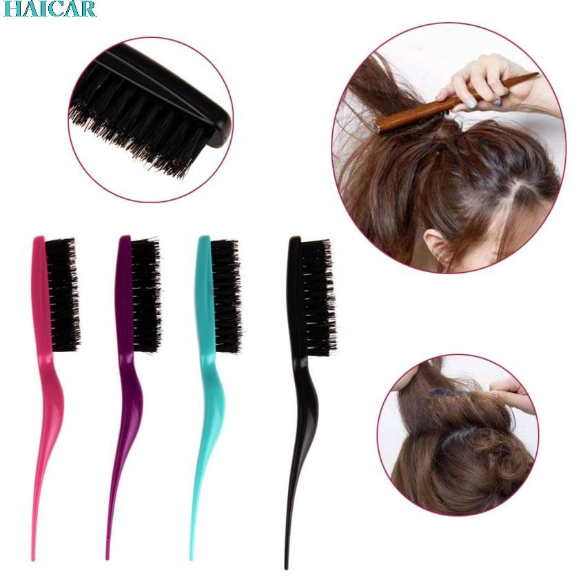 Plastic Modeling Comb Fight Combs Brush Plate Hair Salon Supplies Styling Tool Levert Dropship