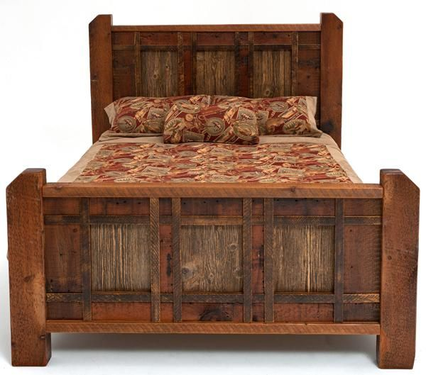 Neat Website/this Is My Favorite Bedroom Collection That They Have.  Reclaimed Barnwood.