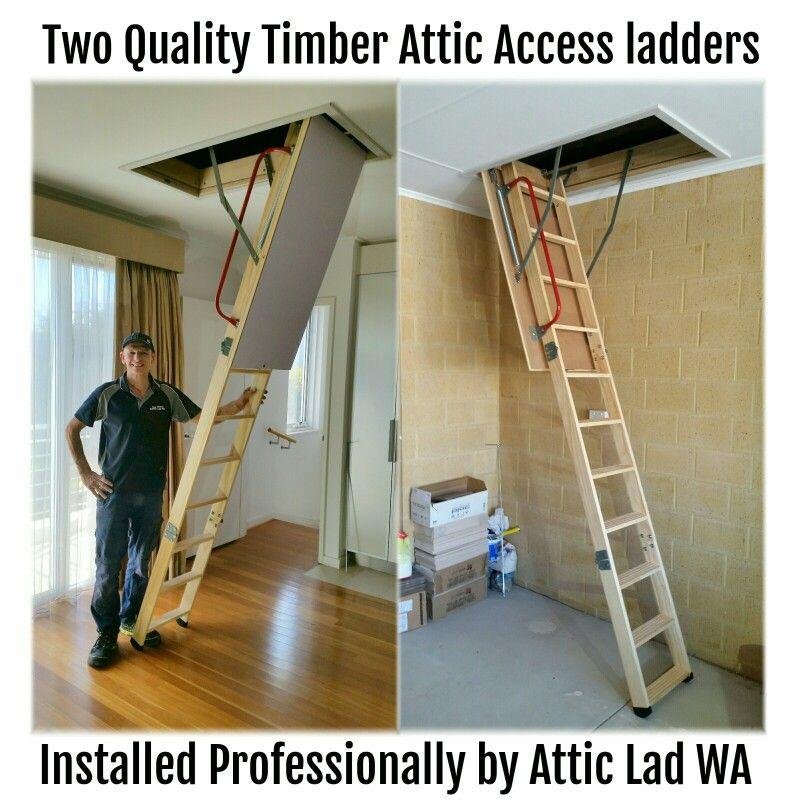 Home Loft Ladder Attic Storage Ladder