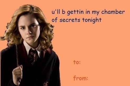 For The People Who Enjoy Simple Puns Harry Potter Valentines Valentines Memes Harry Potter Valentines Cards