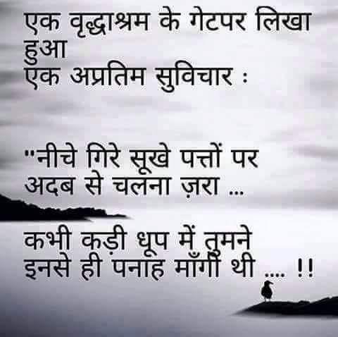 Old age | Irshaad ! | Marathi quotes, Gulzar quotes, Marathi quotes