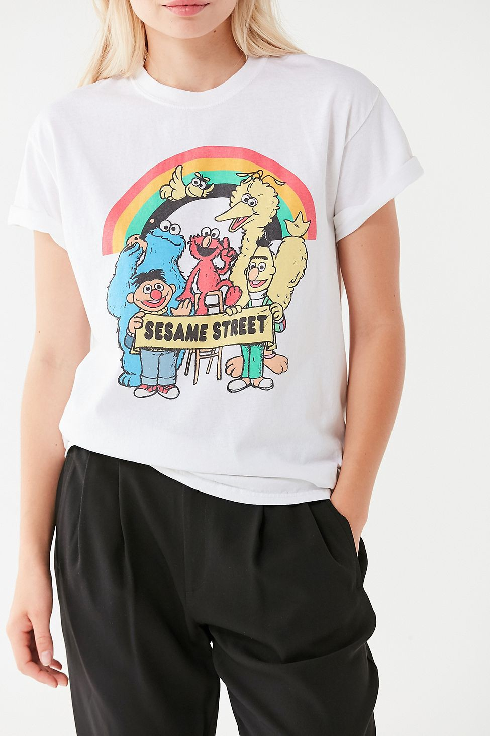 2f92db78c Urban Outfitters Uo Sesame Street Tee - XS | Products | Urban ...