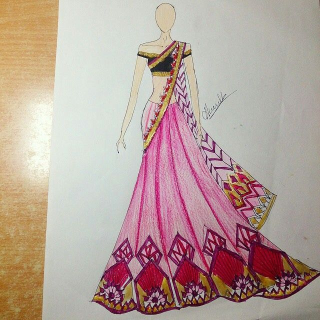 Pin By Mano On Art Illustration Fashion Design Fashion Illustration Dresses Fashion Design Sketches