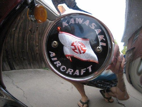 Kawasaki B8 - Gas Tank
