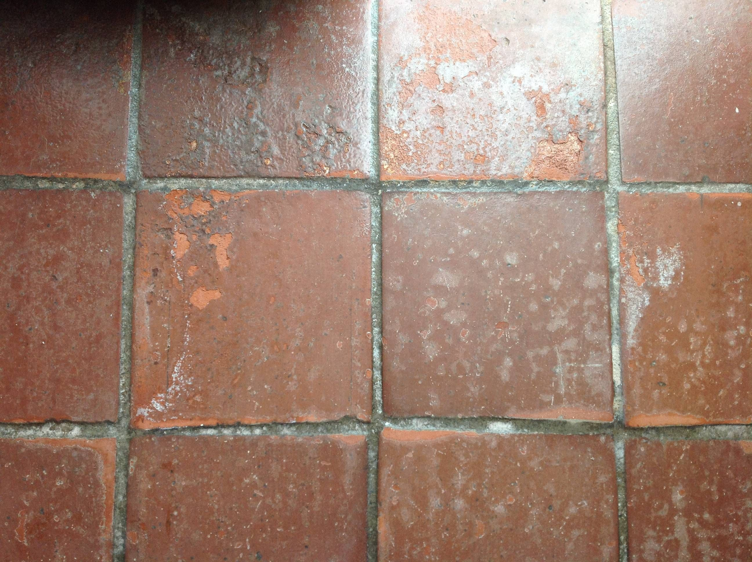 Stripping, cleaning and staining saltillo tile The Home