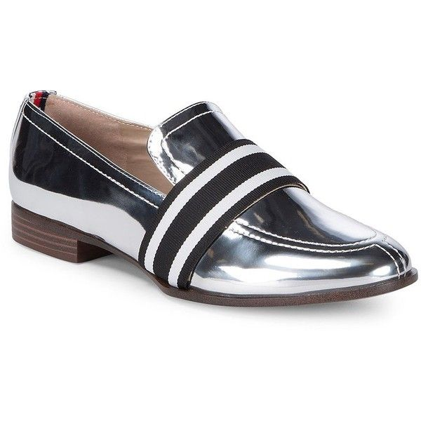 Tommy Hilfiger Women's Gnaz Metallic Leather Casual Loafers (2 270 UAH) ❤  liked on