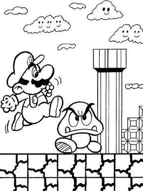 Mario Bros Coloring Pages Free Mario Bros Coloring Pages For Kids Disney Coloring Pa Super Mario Coloring Pages Disney Coloring Pages Mario Coloring Pages