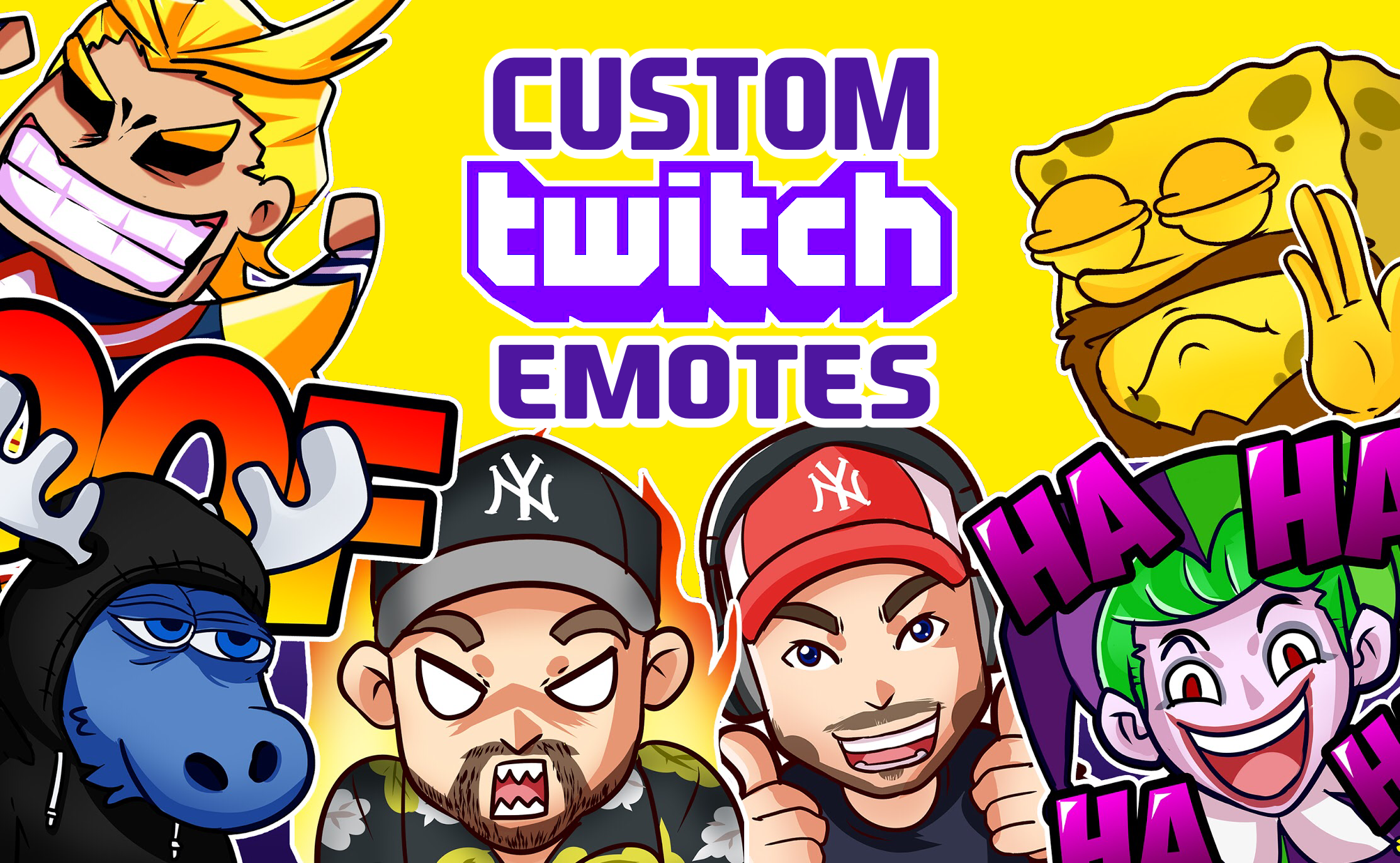 Create Custom Twitch Emotes And Sub Badges In 48 Hours In 2021 Twitch Graphic Design Services Custom