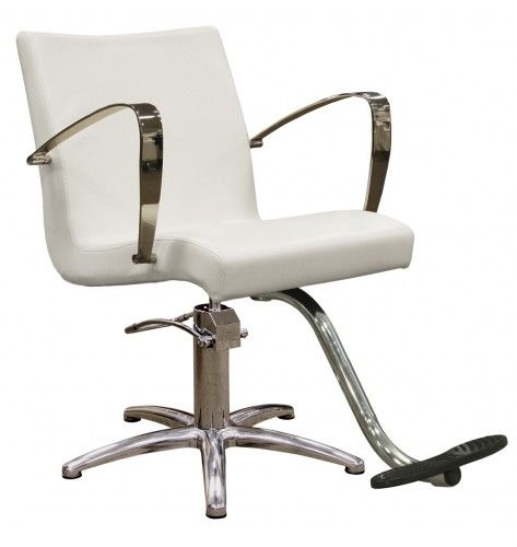 Carrera Styling Chair In Alpine White Chair Style Salon Styling Chairs Chair