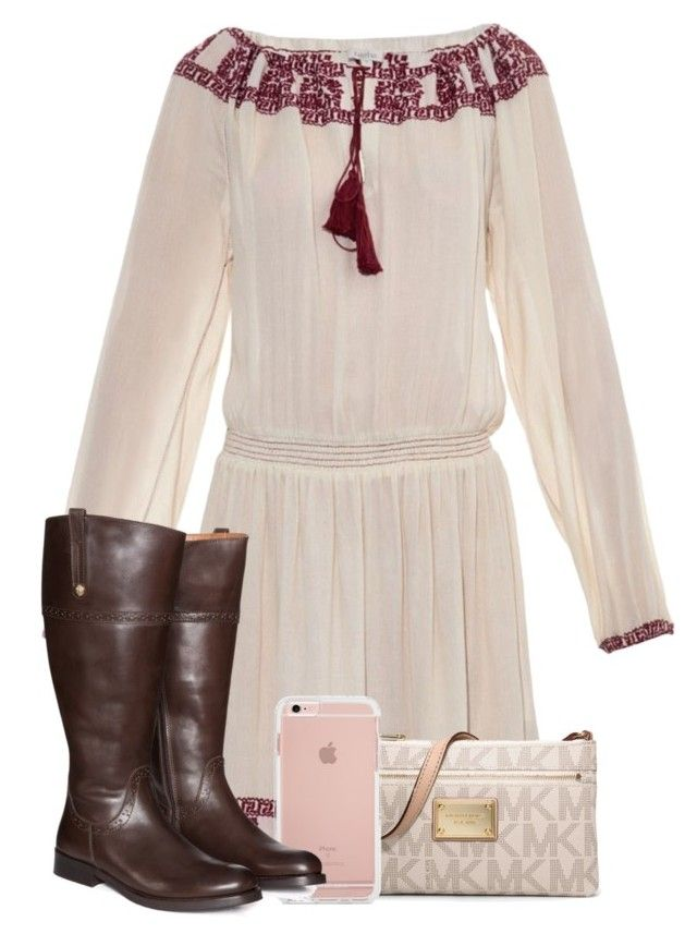 """""""Best Night"""" by miagracerobinson on Polyvore featuring Talitha, MICHAEL Michael Kors and Jilsen Quality Boots"""