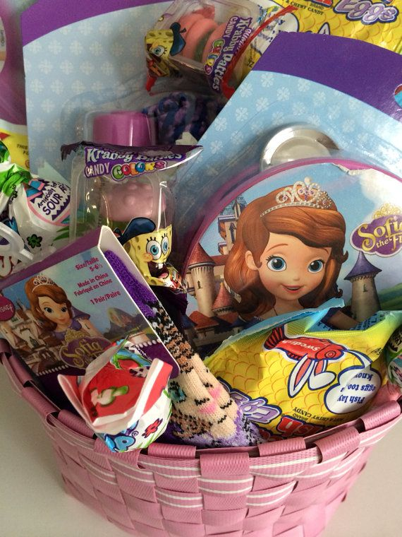 Sofia the first easter basket easter baskets easter and happy sofia the first easter basket negle Images