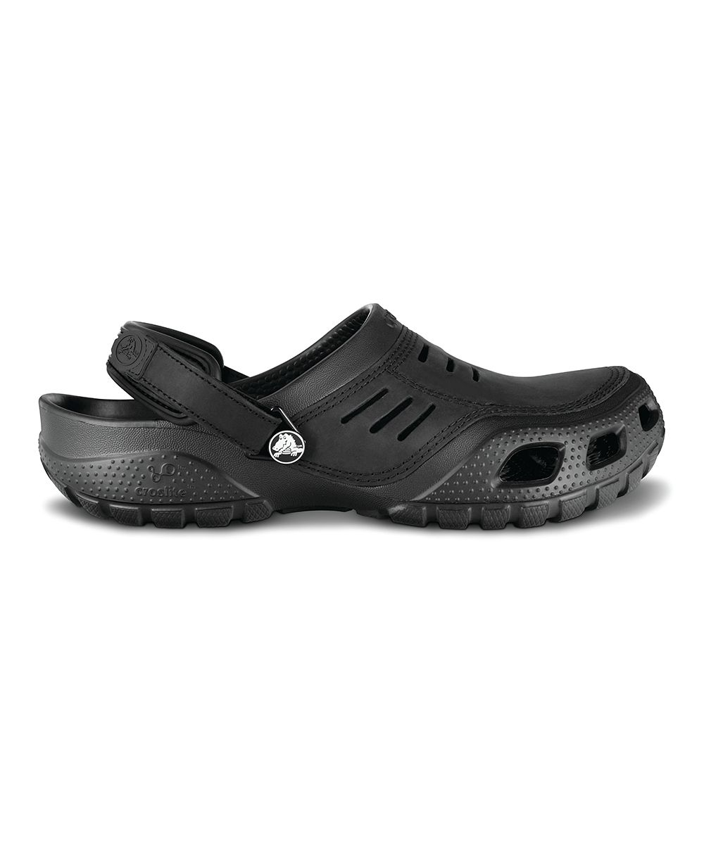 Black Yukon Sport Clog Men (With images) Crocs, Clog
