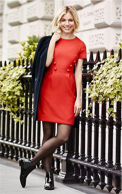 Sienna Miller - Le dressing de Sienna