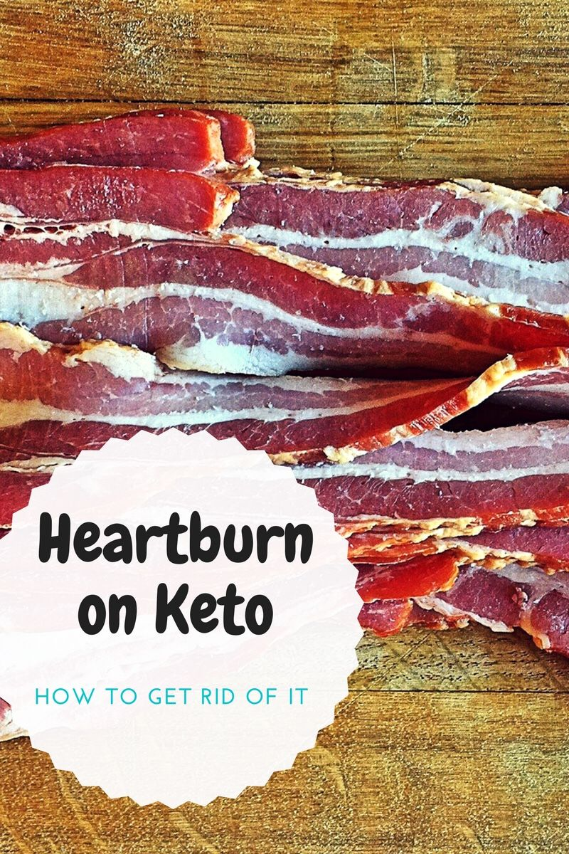 Heartburn On Keto…How to Get Rid of it  – Weight loss DIVA