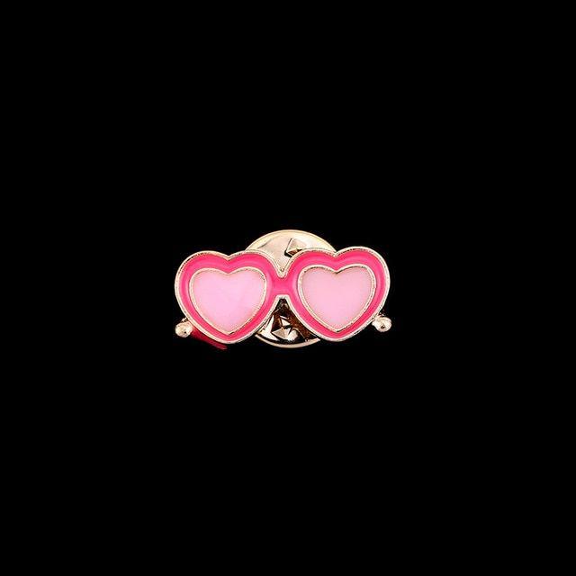 I Remiel Fashion New Women Enamel Brooch Sunglasses Glass