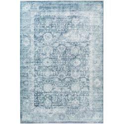 Photo of benuta Viskoseteppich Yuma Blau 160×230 cm – Vintage Teppich im Used-Look benuta