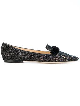 Jimmy Choo Slippers 'Gala' - Metallic farfetch Pelle