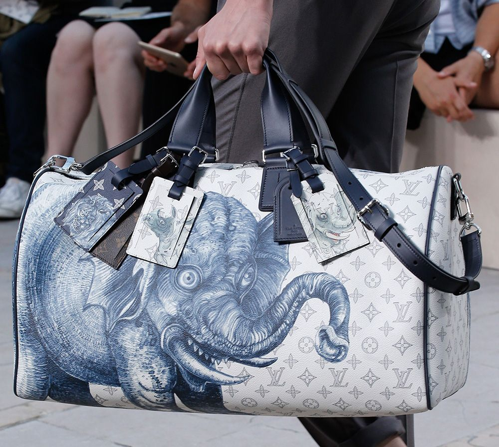 For Spring 2017 Louis Vuitton Took Its Men S Bags On A Fantastical Storybook