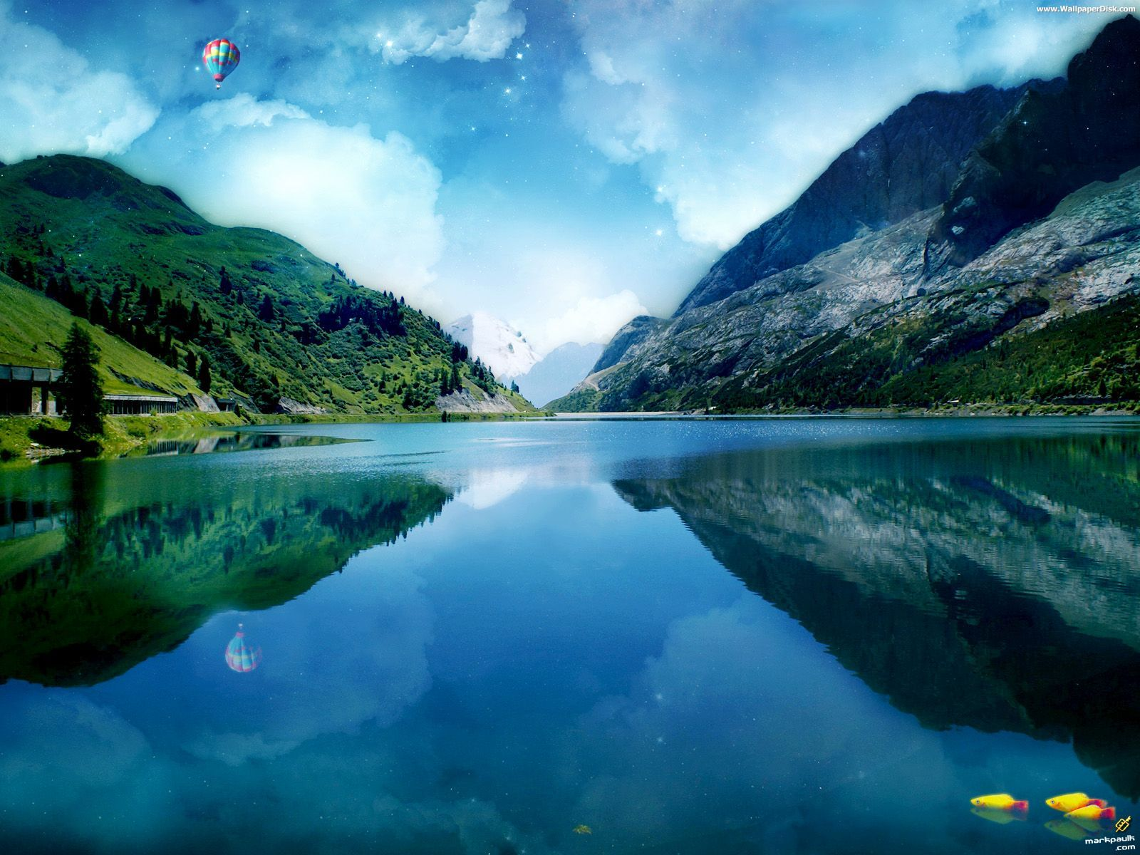 Best Beautiful Lake Desktop Wallpapers Background Collection