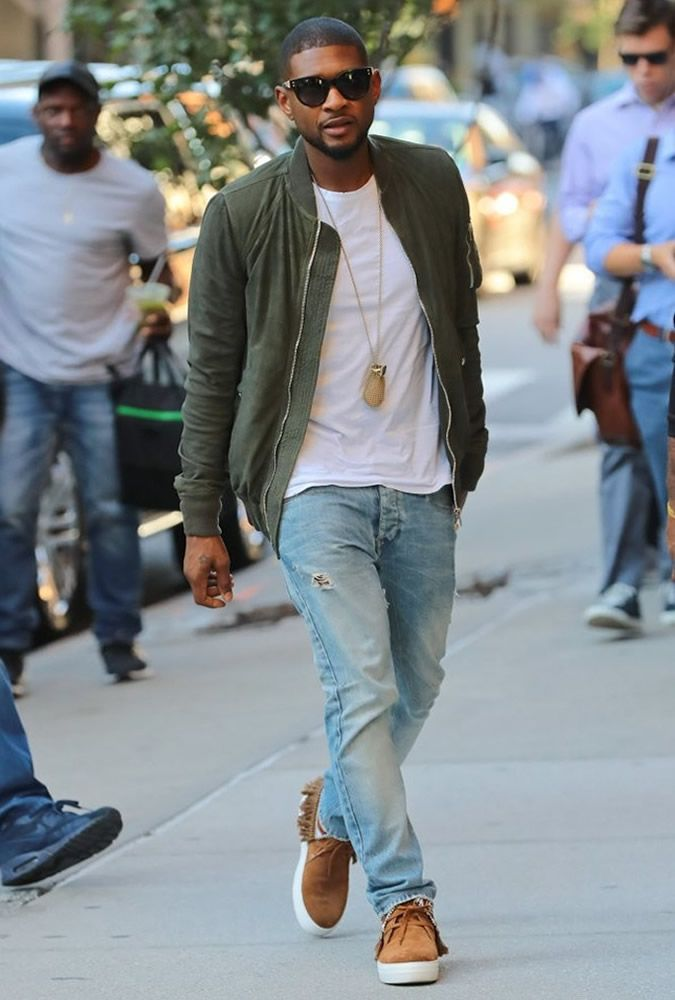 The Best Dressed Men Of The Week: Usher in New York. # ...