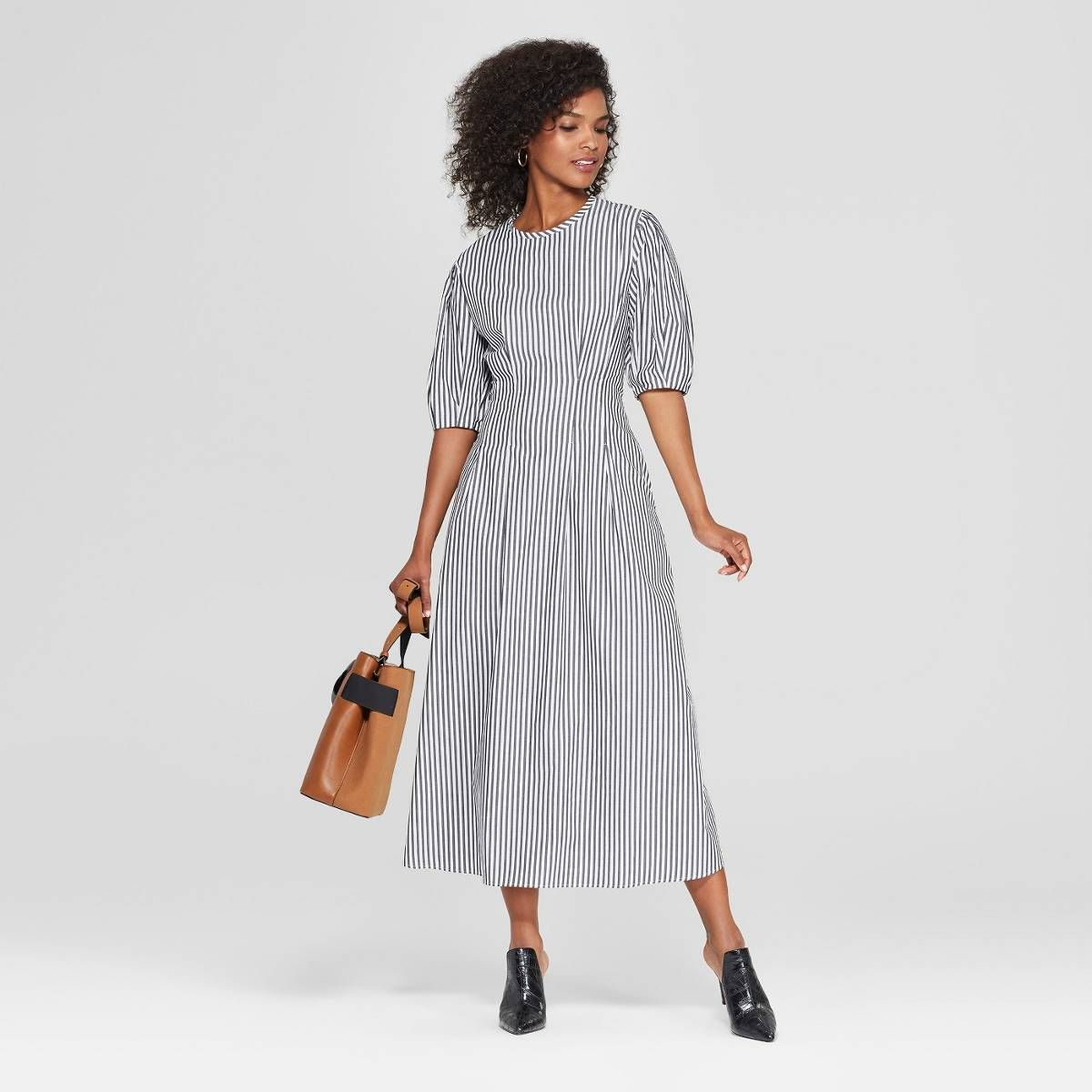 14 082 People Approve Of This Under 40 Dress Puff Sleeve Midi Dresses Dresses Midi Dress [ 1200 x 1200 Pixel ]