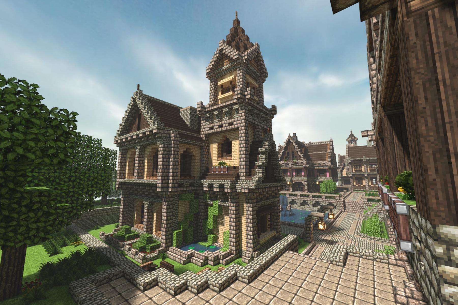 Awesome Minecraft Michael Sullivan Medieval Minecraft House - Minecraft haus einfach nachbauen
