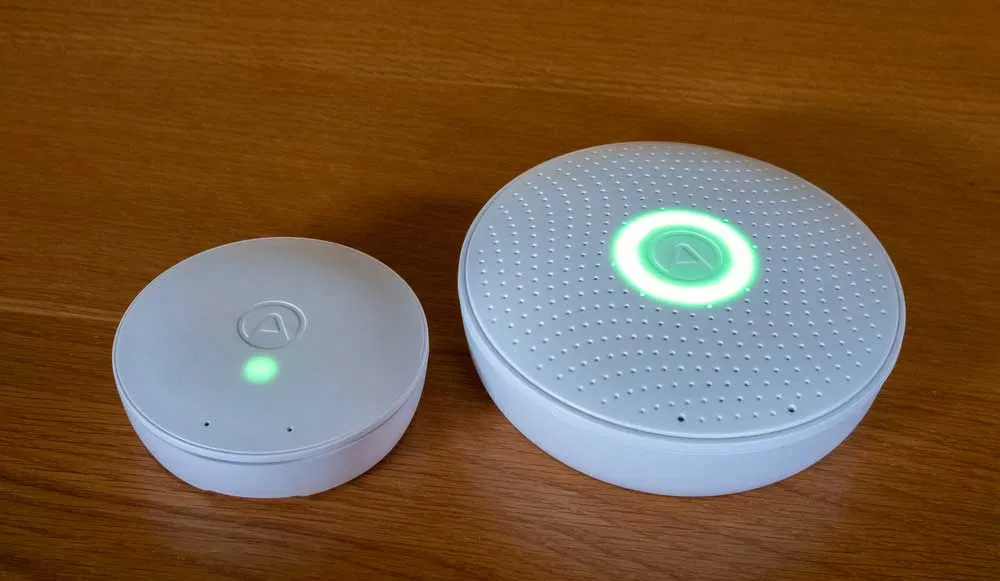 Review Airthings Wave Mini Smart Indoor Air Quality