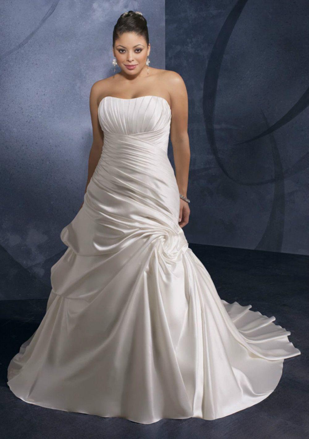 unusual plus size wedding dresses
