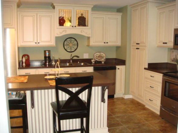 Amazing French Country Kitchen, Remodeling This Small Kitchen Made A Big  Difference! French Country Design Was Used While Keeping Simplicity In Mind.