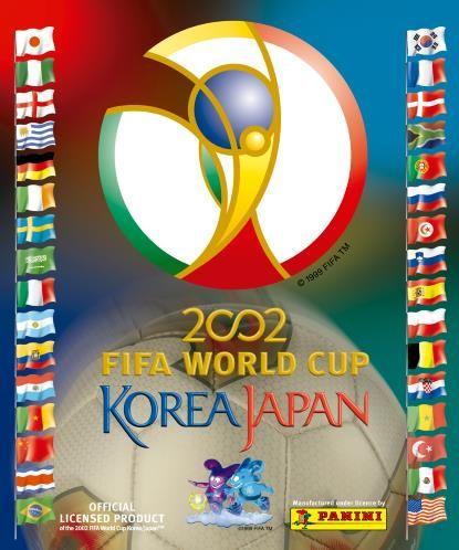 Álbumes Mundial Corea-Japón 2002