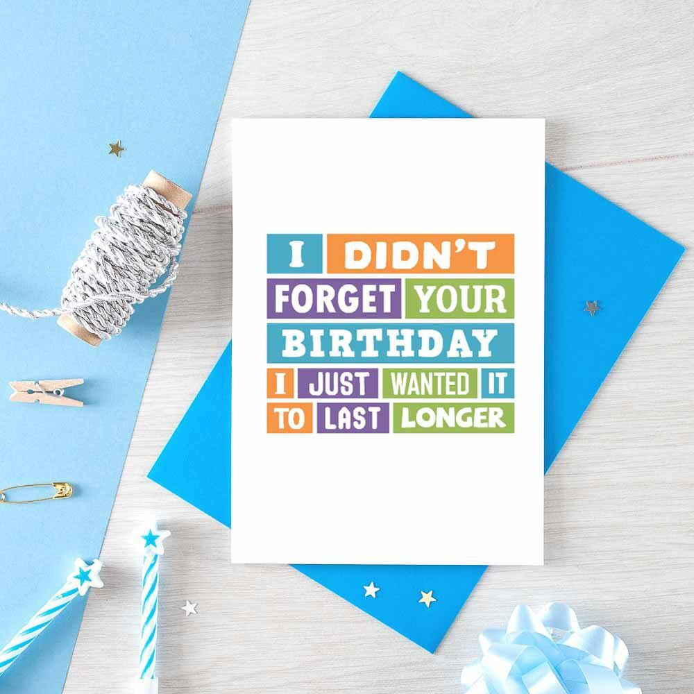Excited To Share This Item From My Etsy Shop Belated Birthday Card Funny Late B Birthday Cards For Brother Birthday Cards For Friends Belated Birthday Card