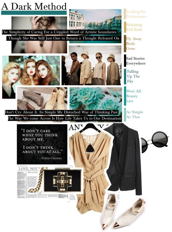"""A Dark Method"" by fattypompom on Polyvore"