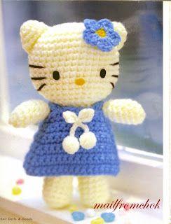 Patron gratuit – Lapin Modèle au Crochet pour Amigurumi - Little ... | 320x244