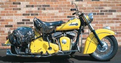 1953 Indian Chief Indian Motorcycle Motorcycle Motorcycle Decor